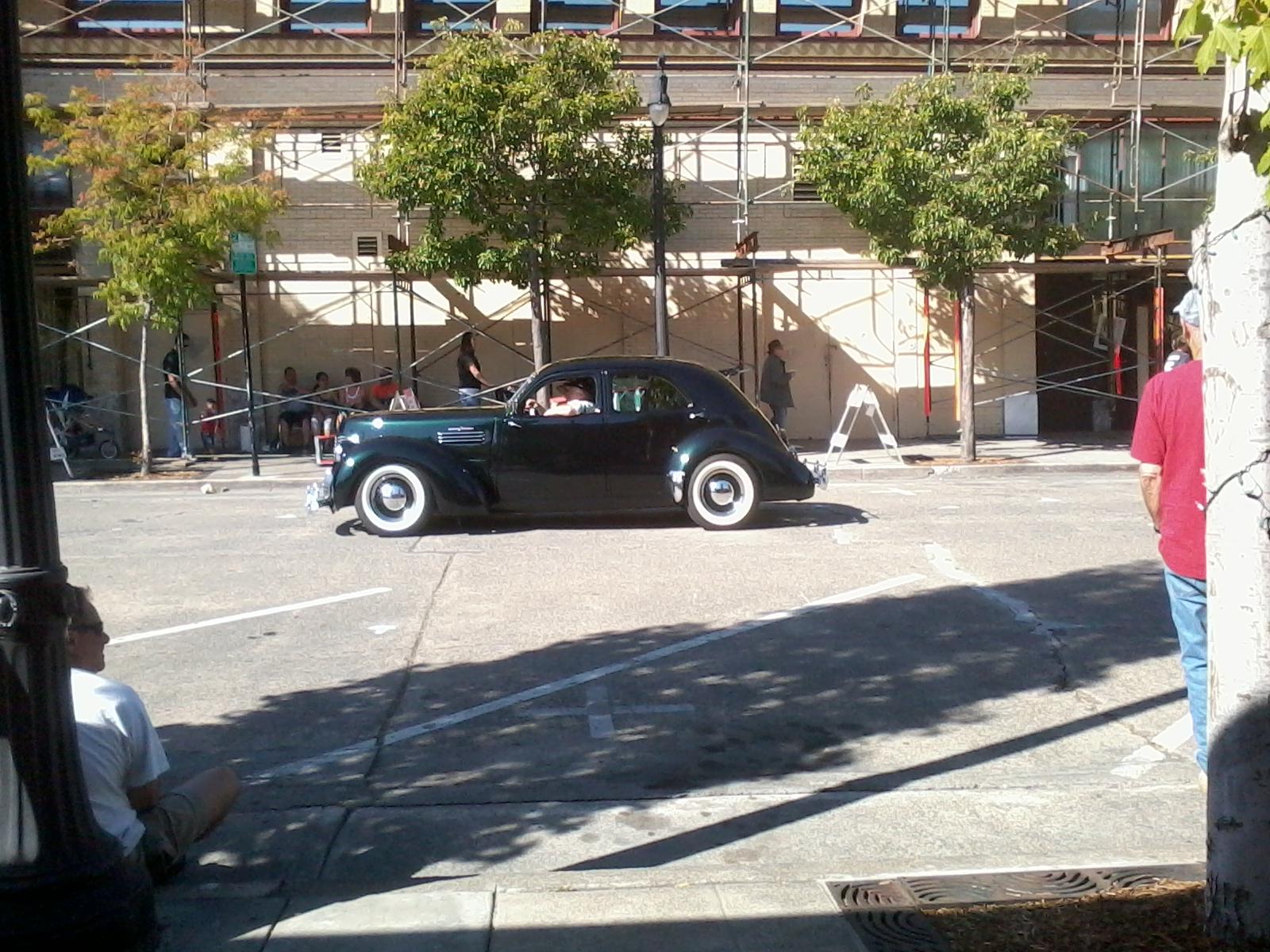 The 2012 American Graffiti Salute Coverage Unmuffled Auto News 1970 Ford Thunderbird Specs This