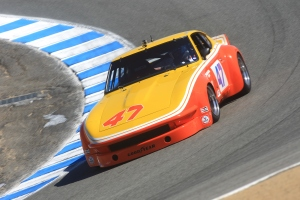 This is David at the 2012 Rolex Reunion at Mazda Raceway Laguna Seca at the infamous Corkscrew S-Bend.
