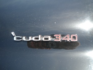 This was one of the first 'Cuda's to get the 340 cubic-inch V8.  It's a lucky car, and an even luckier owner.