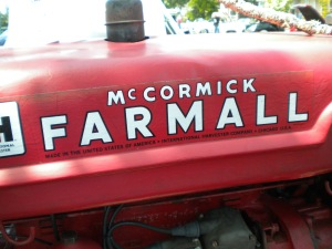 Farmall made the tractors, but McCormick made a lot of the running gear, so they are McCormick-Farmall Cubs.