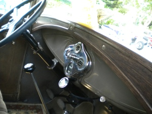The interior is spartan, but then again, most interiors were until the 1950's.  However, this interior was considered to be range-topping in the 1930's.