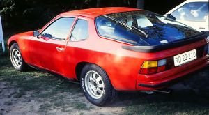 This is a 1976 Porsche 924. You can definitely see the VW design in it, right?