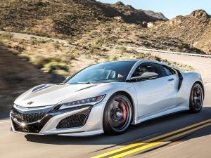 I have to admit, the 2017 Acura NSX is quite the looker!