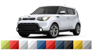 Yes, those are all of the available colors for the 2017 Soul!